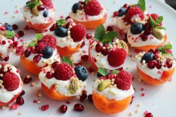 Fingerfood gefüllte Aprikosen